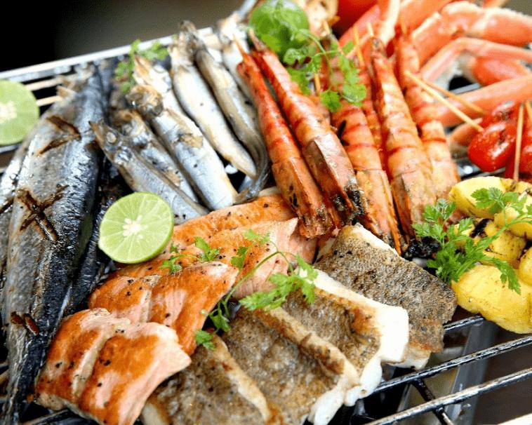 """Thưởng thức BBQ hải sản, thư giãn tại resort 3 sao, """"đã quá xá"""" cùng Đất Việt Tour - Hải sản"""