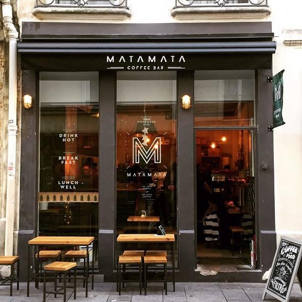 Động Lòng Cà Phê Pháp Dưới Bầu Trời Paris - Matamata Coffee