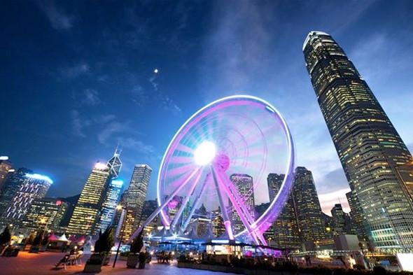 Tòa nhà Sky 100 - nơi lý tưởng để ngắm nhìn toàn cảnh Hong Kong