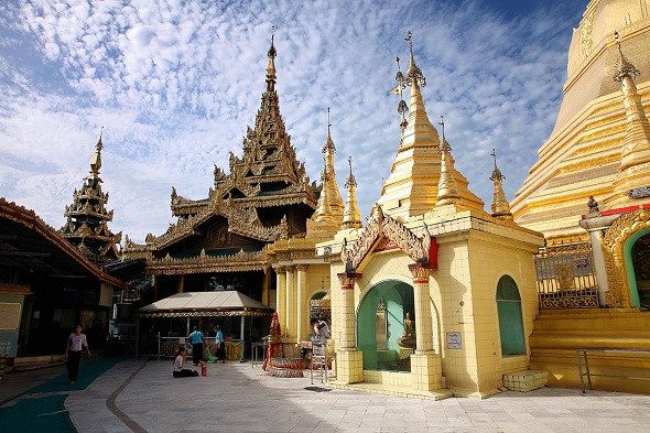 4 Ngôi Vàng Chùa Myanmar Đại Diện Văn Hóa Tín Ngưỡng Đông Nam Á - Chùa Sule