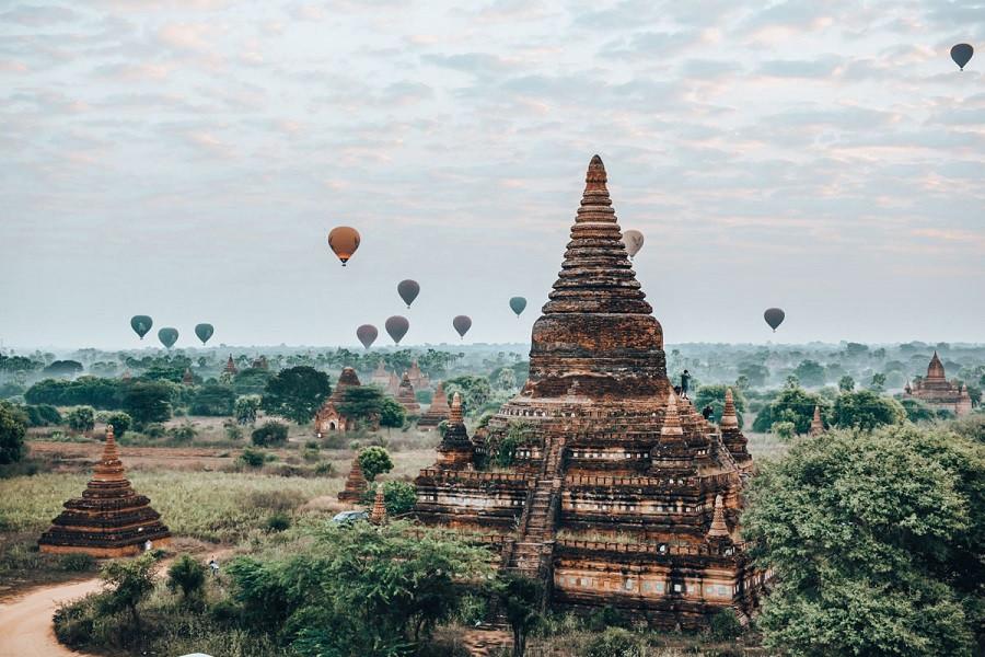 Bagan - Vùng đất cố đô đầy thương nhớ - Đền tháp tại Bagan