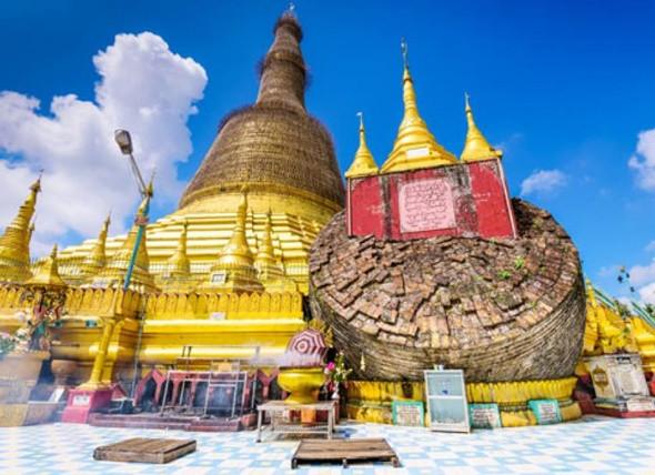 Top 5 điểm đến nổi tiếng tại Myanmar - Chùa vàng Shwe Maw Daw