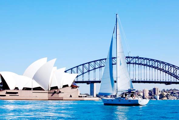 Du thuyền trên vịnh cảng Sydney cần chi bao nhiêu?