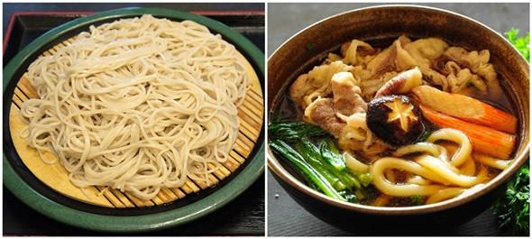 """Soba và Udon là hai loại mì trứ danh của xứ sở """"Hoa anh đào""""."""