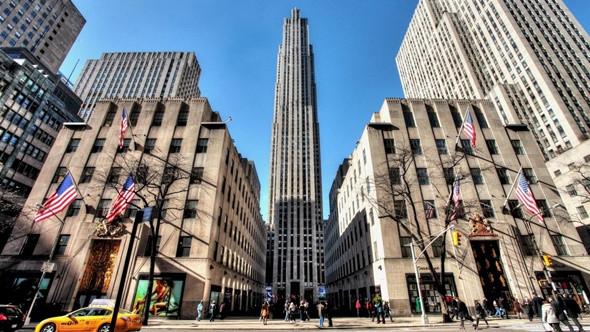 Xiêu Lòng Trước 5 Điểm Đến Đẹp Ngất Ngây Tại Mỹ - Trung tâm thương mại Rockefeller