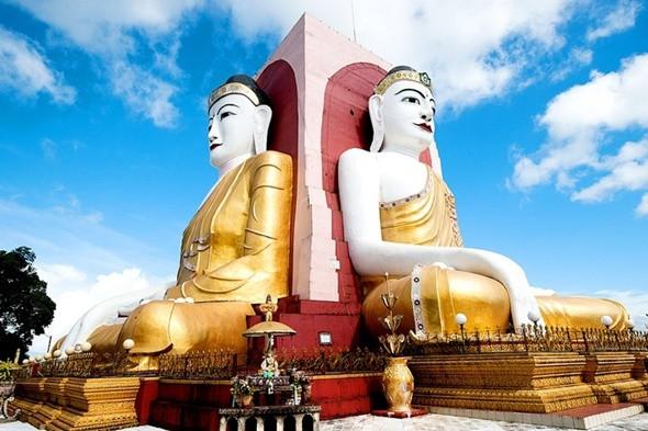 Oanh Tạc 5 Địa Điểm Trứ Danh Tại Myanmar - Chùa Kyaik Pun