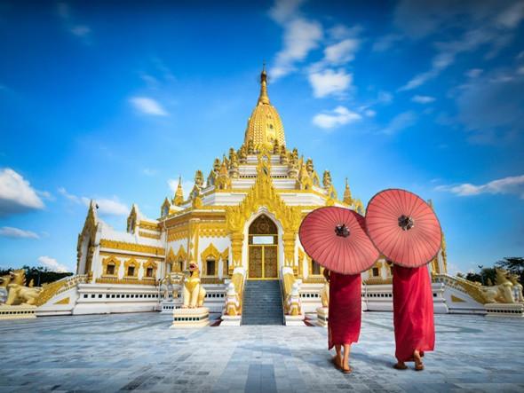 Oanh Tạc 5 Địa Điểm Trứ Danh Tại Myanmar - Chùa Swe Taw Myat