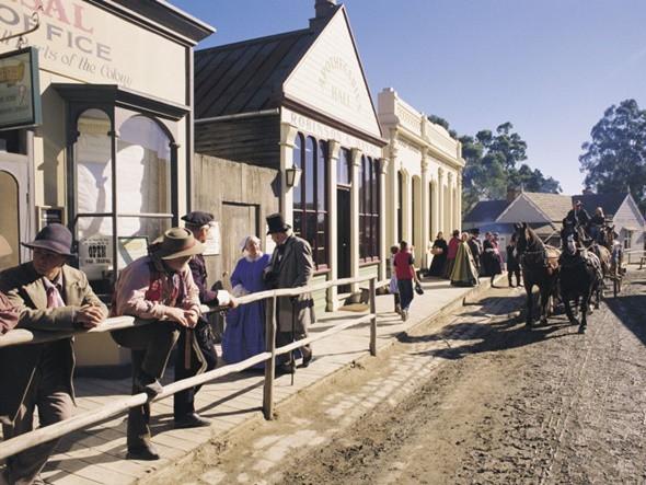 Xiêu Lòng Trước 5 Địa Điểm Đẹp Ngất Ngây Tại Úc - Thị trấn Ballarat