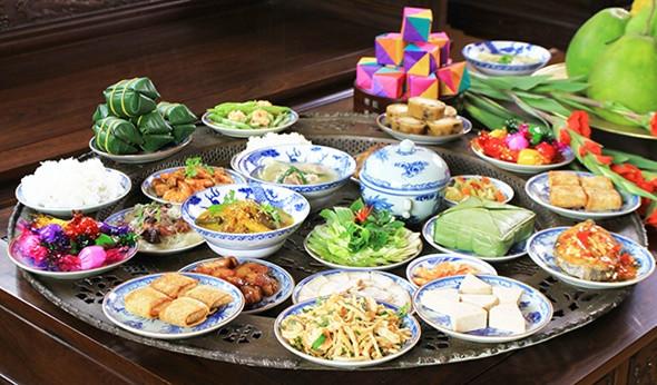Tết Campuchia Có Giống Tết Việt Nam - Món ăn đặc trưng của người Việt