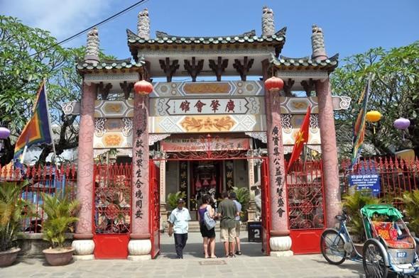 Top 5 Địa Điểm Không Thể Bỏ Qua Khi Du Lịch Hội An - Hội quán Quảng Đông