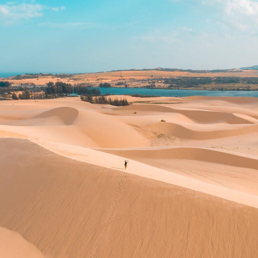 Khám phá đồi cát bay – trải nghiệm thú vị tại Phan Thiết - Đồi cát bay