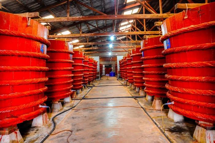 Cơ sở sản xuất nước mắm