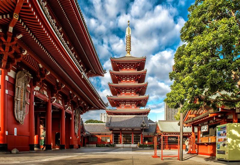 Truyền thuyết về Chùa cổ Asakusa Kannon