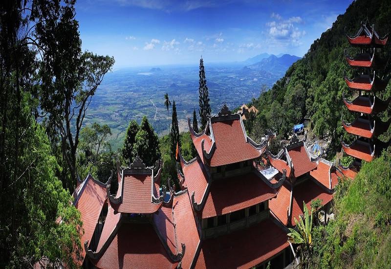 Vị trí địa lý tuyệt đẹp của KDL Núi Tà Cú