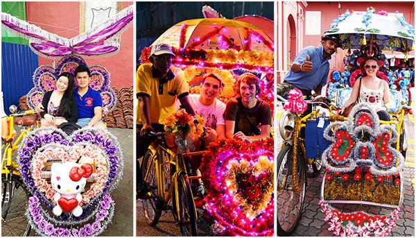 Đạp xe trishaw