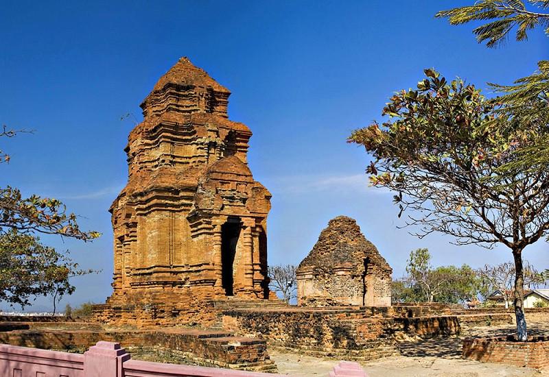 Kỹ thuật xây dựng Tháp chàm Poshanư hoàn hảo