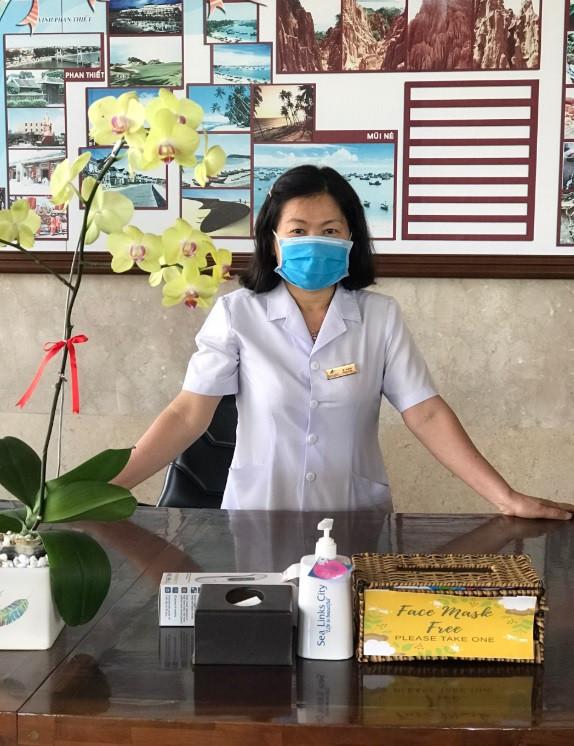 Bác sĩ chăm sóc sức khỏe khách tham quan và cư trú tại Sealink City