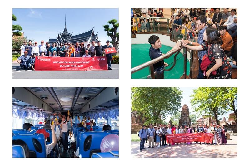 Đất Việt Tour đồng hành cùng 800 khách STARCEMT trong hành trình du lịch kết hợp sự kiện tại Thái Lan - ảnh 2