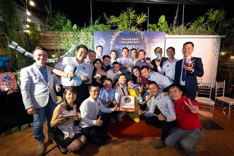 Đất Việt Tour hân hạnh là Nhà tài trợ Bạc chương trình Year End Party: Wonderful Night chi hội YBA-Gia Định - ảnh 2