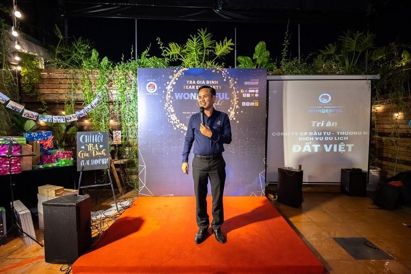 Đất Việt Tour hân hạnh là Nhà tài trợ Bạc chương trình Year End Party: Wonderful Night chi hội YBA-Gia Định - ảnh 3