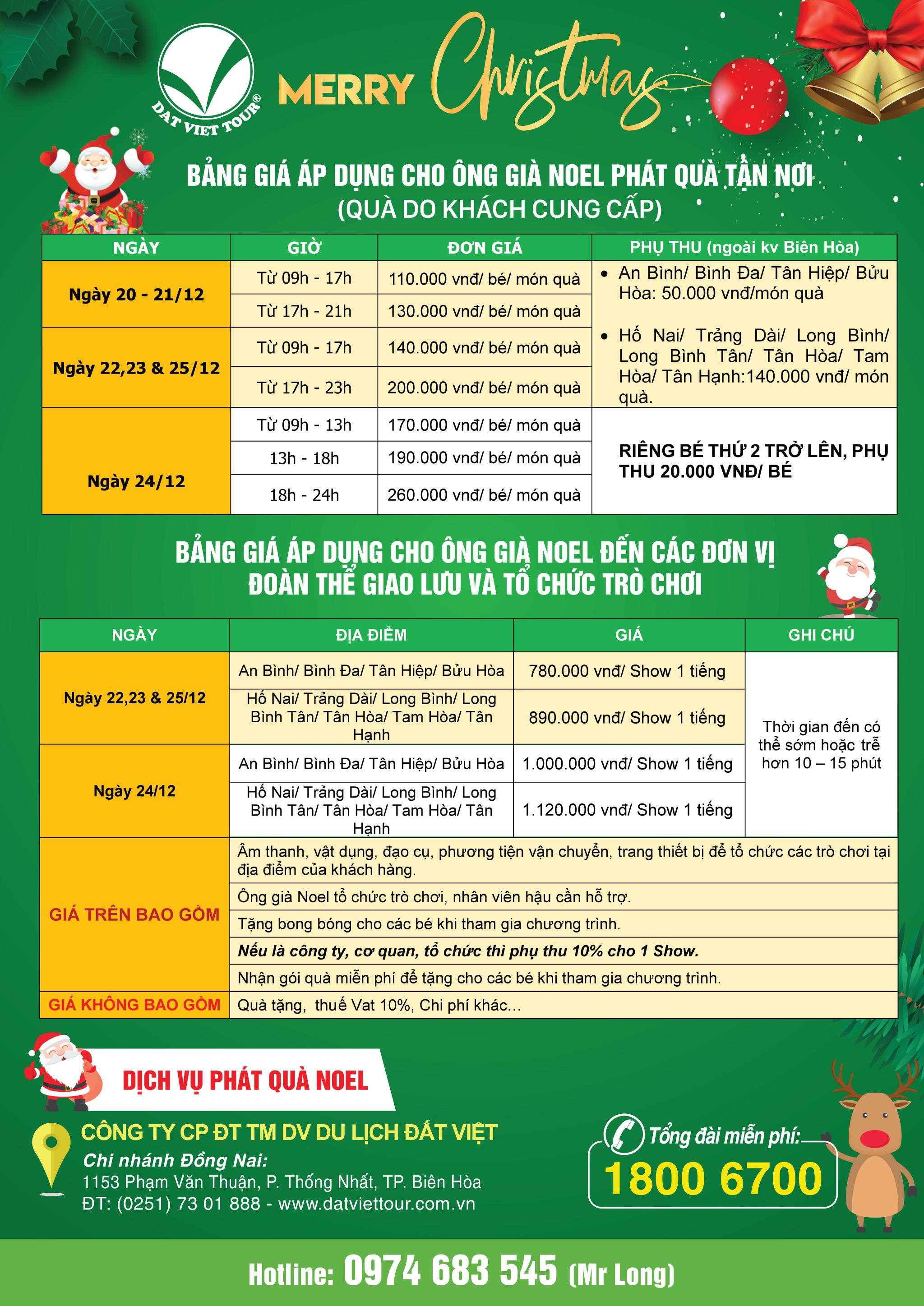 Giáng sinh ấm áp cùng dịch vụ trao quà Noel của Đất Việt Tour - ảnh 6