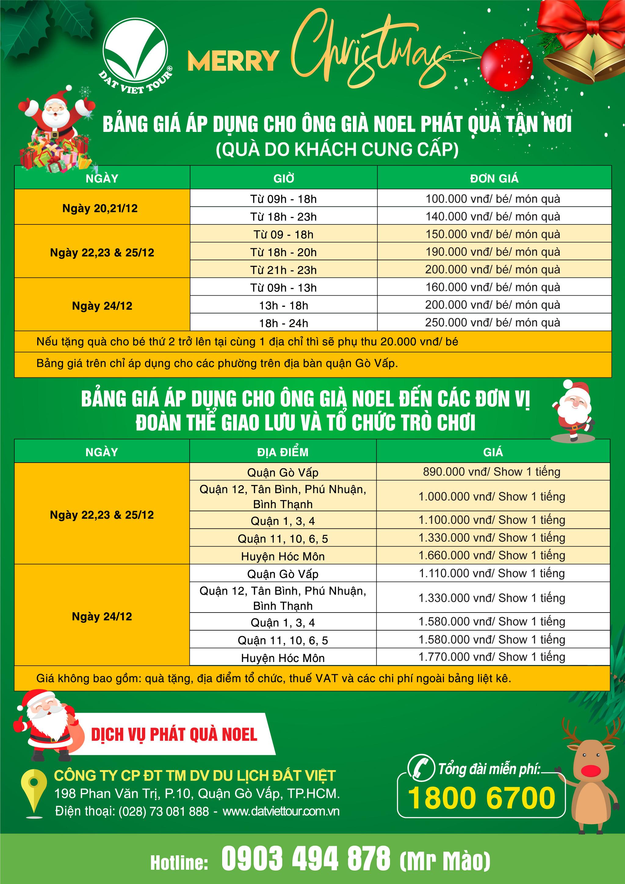Giáng sinh ấm áp cùng dịch vụ trao quà Noel của Đất Việt Tour - ảnh 4