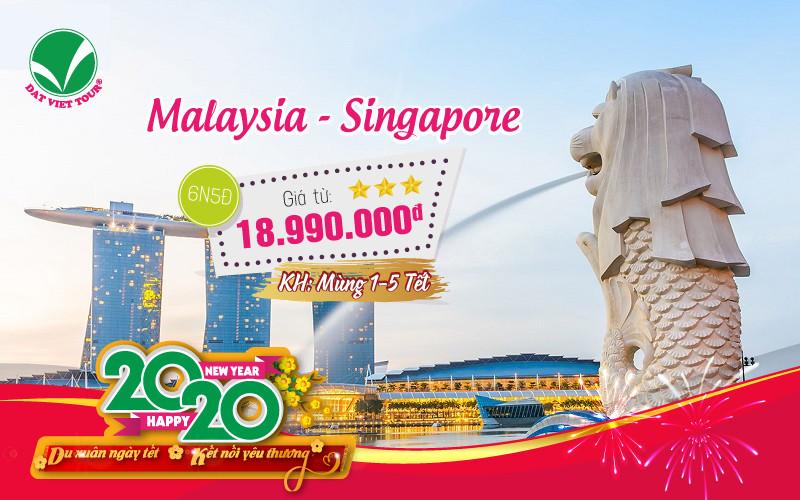 Tour Du Lịch Tết: Malaysia | Singapore (6N5Đ)