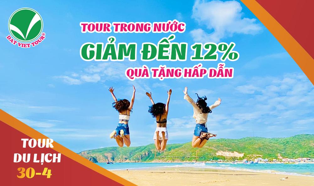 Đất Việt Tour khuyến mại lớn cho chùm tour du lịch lễ 30/4 nội địa - ảnh 1