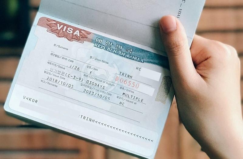 Những thủ tục và điều kiện xin visa Hàn Quốc mới nhất - ảnh 3